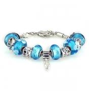 Браслет Pandora Style Муранское стекло арт.7547