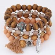 Браслет Сандаловое дерево ручная работа арт.2276-3