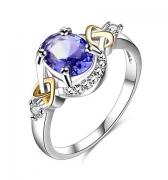 Кольцо Crystal~Swarovski арт.2131-2